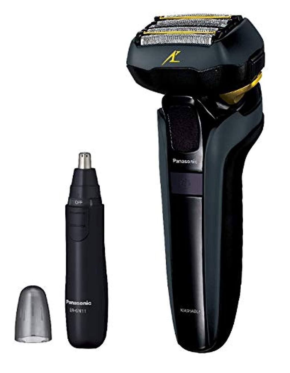 間違えた前者のりパナソニック ラムダッシュ メンズシェーバー 5枚刃 黒 ES-LV5D-K + エチケットカッターER-GN11-K セット