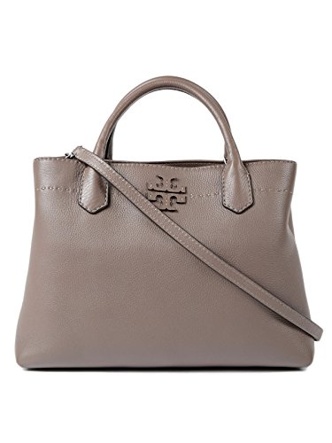 (トリーバーチ) TORY BURCH McGraw Triple Compartment Leather Satchel Bag レディース ショルダーバッグ 40405 (並行輸入品)