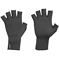 Kathmandu Polypro Thermal Knitted Warm Winter Fingerless Gloves