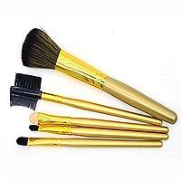 高品質5ピース化粧品メイクアップブラシセットブラッシュリップブローアイシャドウブラシ