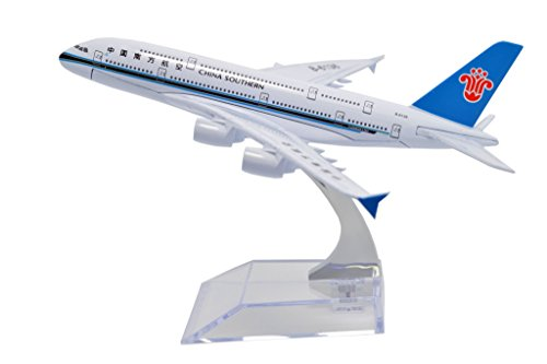TANG DYNASTY 1/400 16cm 中国南方航空 China Southern Airlines エアバス A380 高品質合金飛行機プレーン模型 おもちゃ