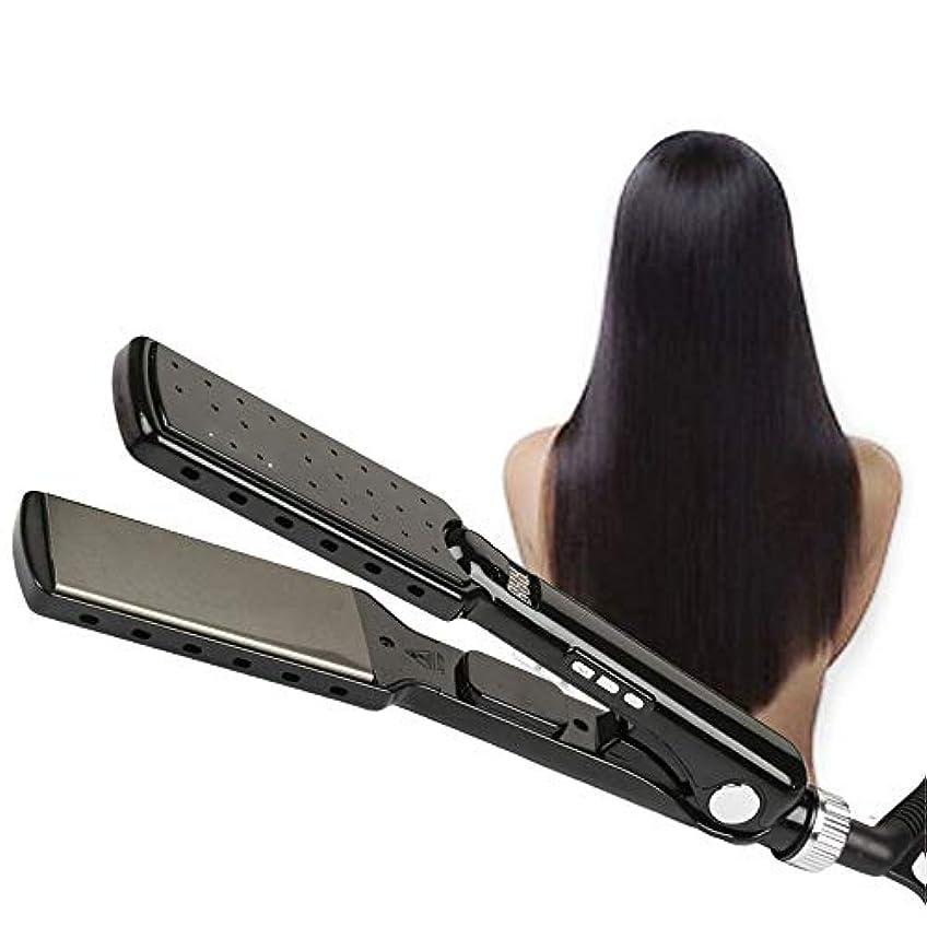 体現するシェトランド諸島引き渡すストレートヘアスティック 360度回転デュアル電圧旅行毛矯正ストレート温度調節可能な毛矯正 すべてのタイプの髪に適しています (色 : A, サイズ : Free size)