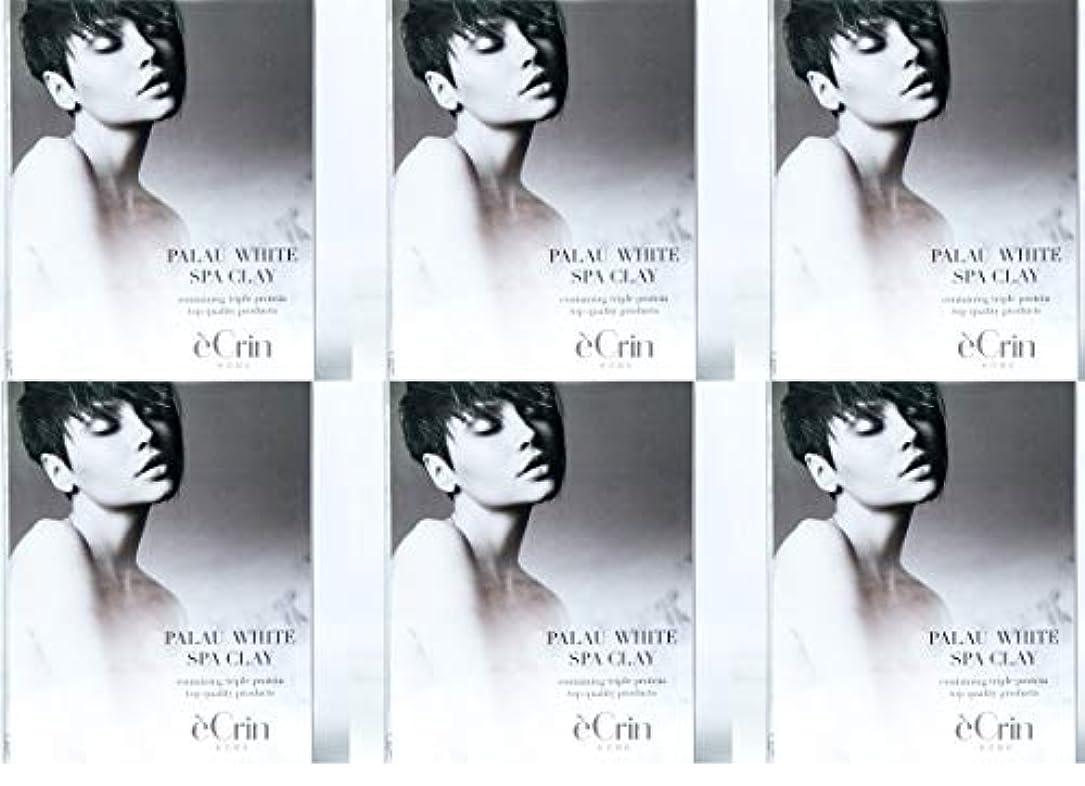 いっぱい偏差韓国パラオホワイト スパクレイ 入浴用化粧料 ノンシリコン 50g5包 6個セット