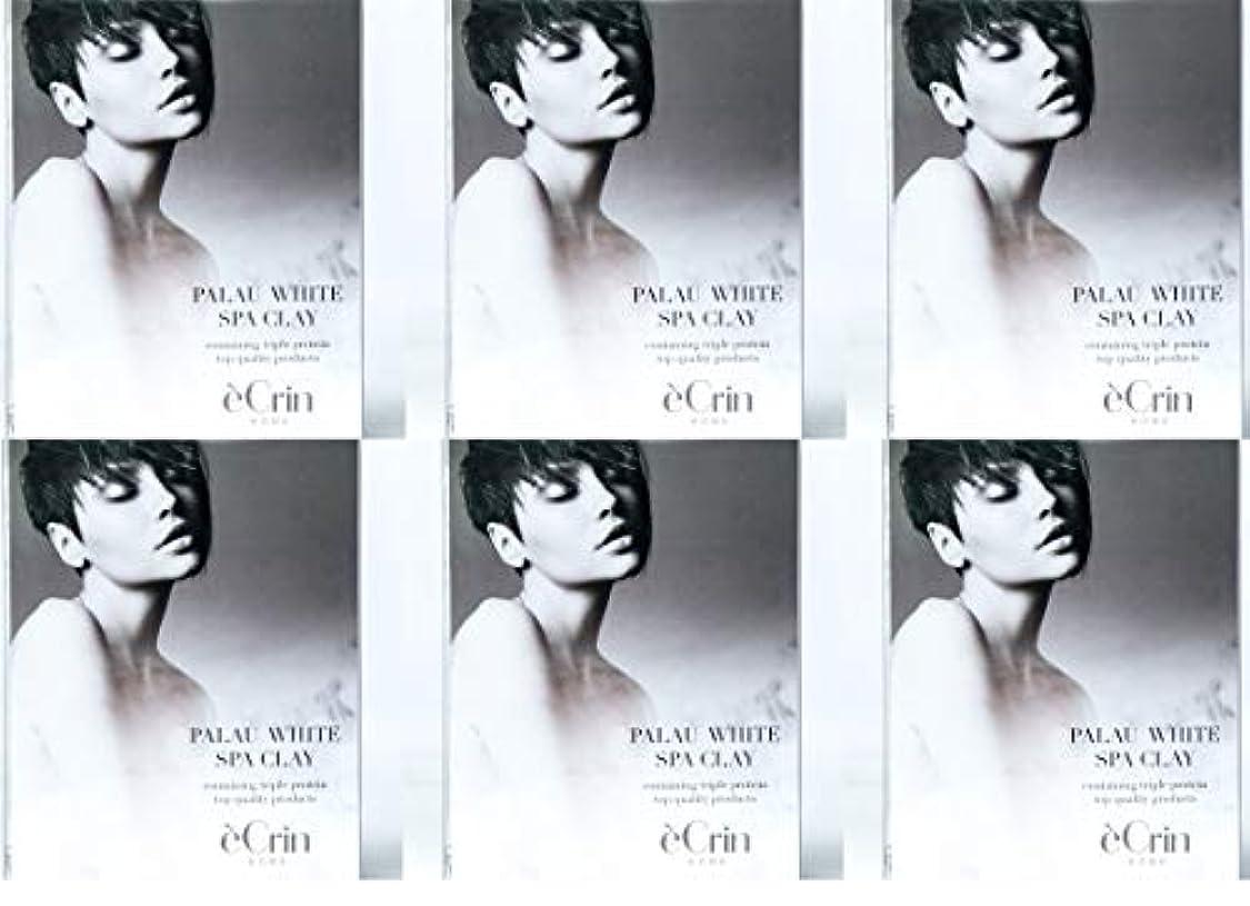 パラオホワイト スパクレイ 入浴用化粧料 ノンシリコン 50g5包 6個セット