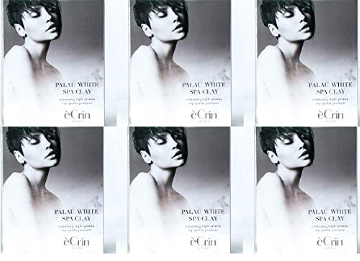 ペパーミントタイピストクラフトパラオホワイト スパクレイ 入浴用化粧料 ノンシリコン 50g5包 6個セット