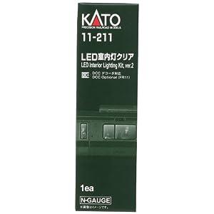 KATO Nゲージ LED室内灯クリア 11-211 鉄道模型用品