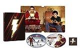 【Amazon.co.jp限定】【メーカー特典あり】シャザム! スチールブック仕様 4K ULTRA HD & ブルーレイセット (限定生産/2枚組)(DC×モンキー・パンチ オリジナルステッカー付) [Blu-ray]