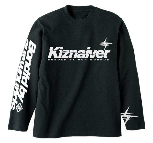 キズナイーバー ロングスリーブ Tシャツ ブラック XLサイズ
