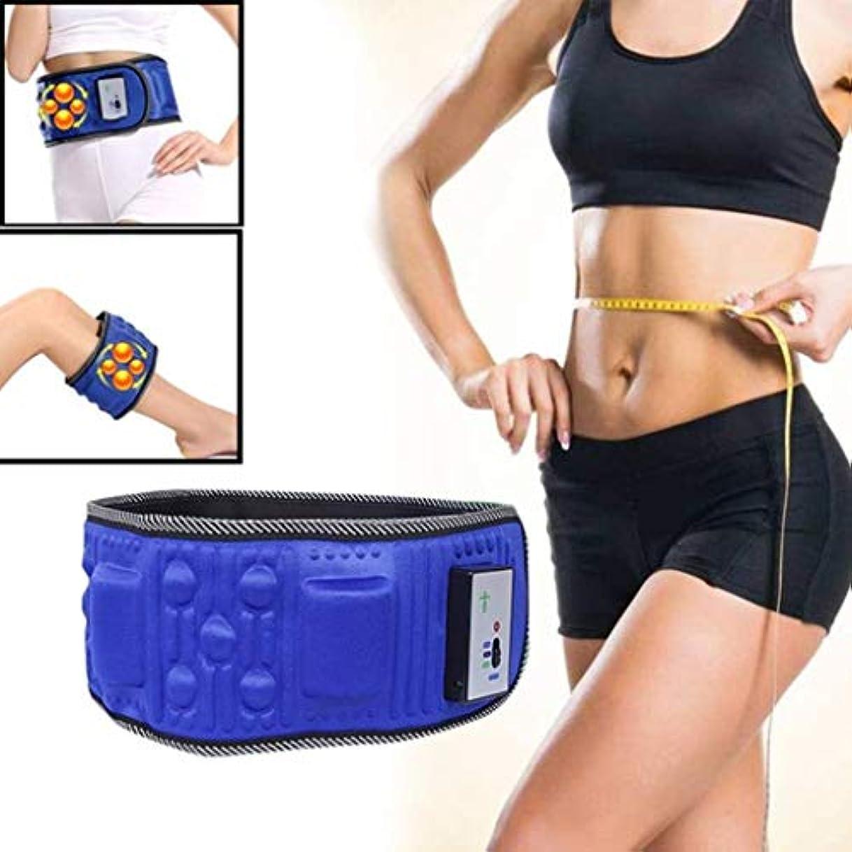 目を覚ます進化扱いやすい腰マッサージャー、電動振動痩身ベルトマッサージャー、痩身ベルト振動脂肪燃焼痩身ベルト、ウエストトレーナー
