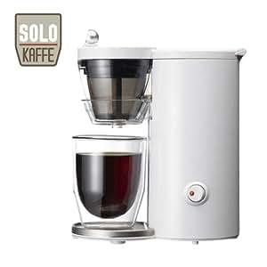 レコルト コーヒーメーカー ソロカフェ ホワイト SLK-1W