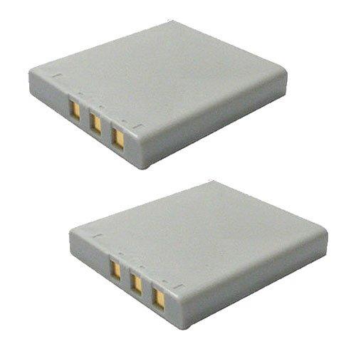 【JC】2個セット KONICA MINOLTA/コニカミノルタ NP-1 互換バッテリー DiMAGE X1 対応