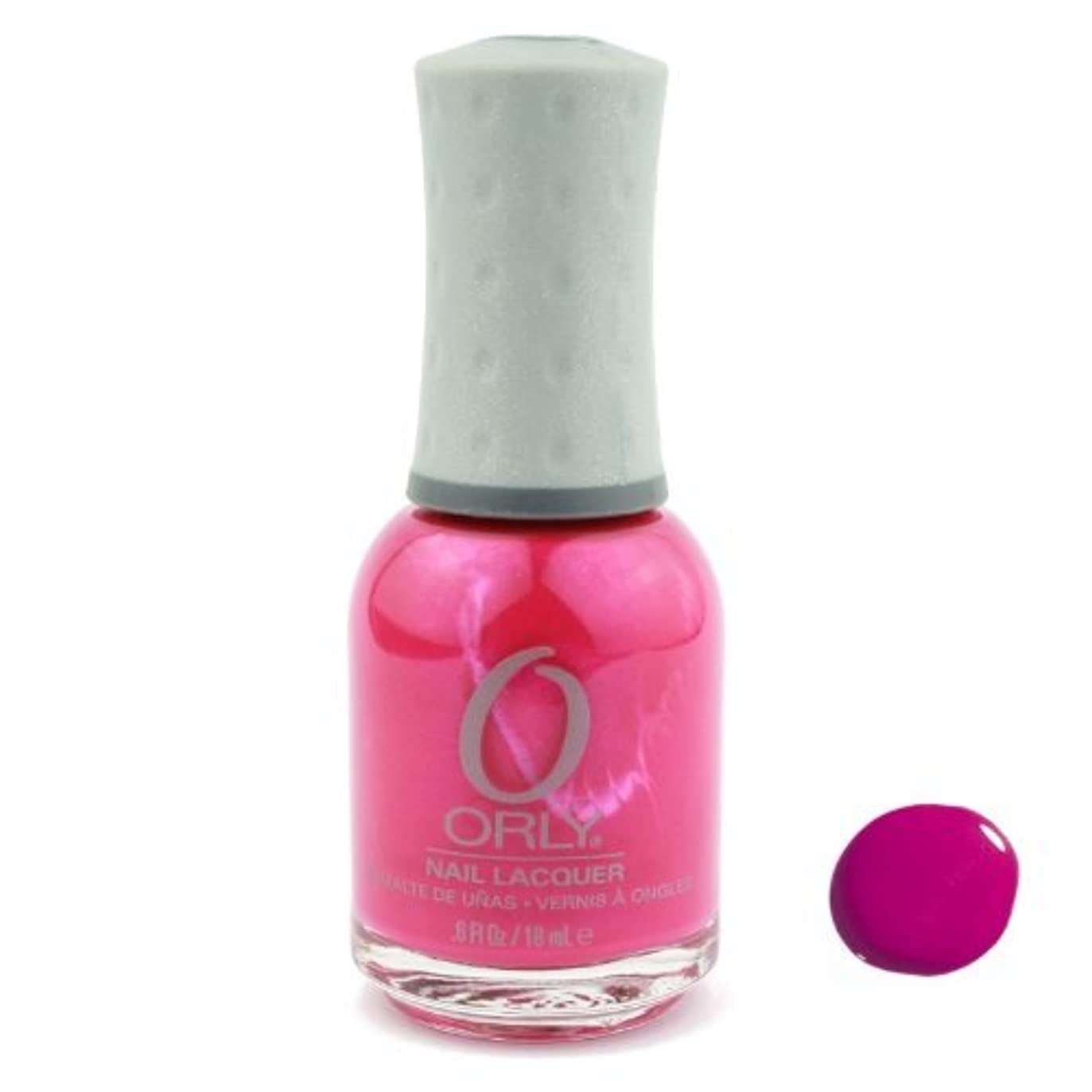 注入スリップシューズチェリーOrly Nail Lacquer - Hawaiian Punch - 0.6oz / 18ml