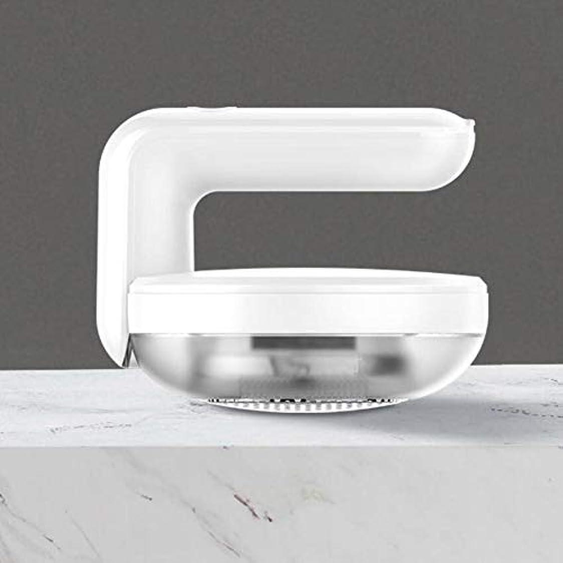 振動させるオーバーフローペナルティ毛玉取り器 毛玉カット 電動 毛玉取り機 USB充電式 6枚刃モデル 高速回転