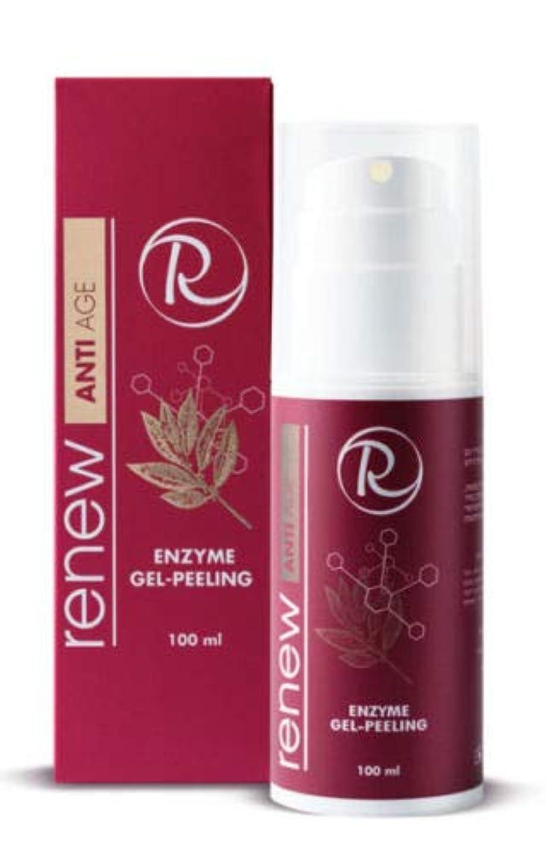 うめき声可聴治療Renew Anti Age Enzyme Gel-Peeling 100ml