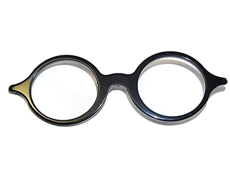Luccica ルチカ 『 オクチャリー ブローチ 』 (ブラック) アクセサリー かわいい おしゃれ めがね メガネ 眼鏡 誕生日 プレゼント 女性 雑貨 ユニーク おもしろ