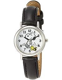 [シチズン Q&Q] キッズ腕時計 PEANUTS(ピーナッツ) スヌーピー P003-304 ガールズ ブラック