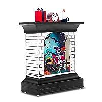 ハロウィーンの装飾LEDライト魔女/カボチャ/スケルトンLED暖炉ナイトライト不気味なバーハロウィーンホームスクールデコレーション