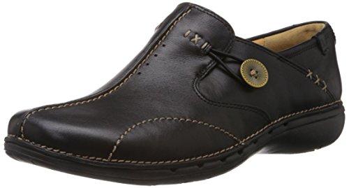 [クラークス] Clarks スリッポン Un Loop 20312837 Black Leather (ブラックレザー/UK 5)