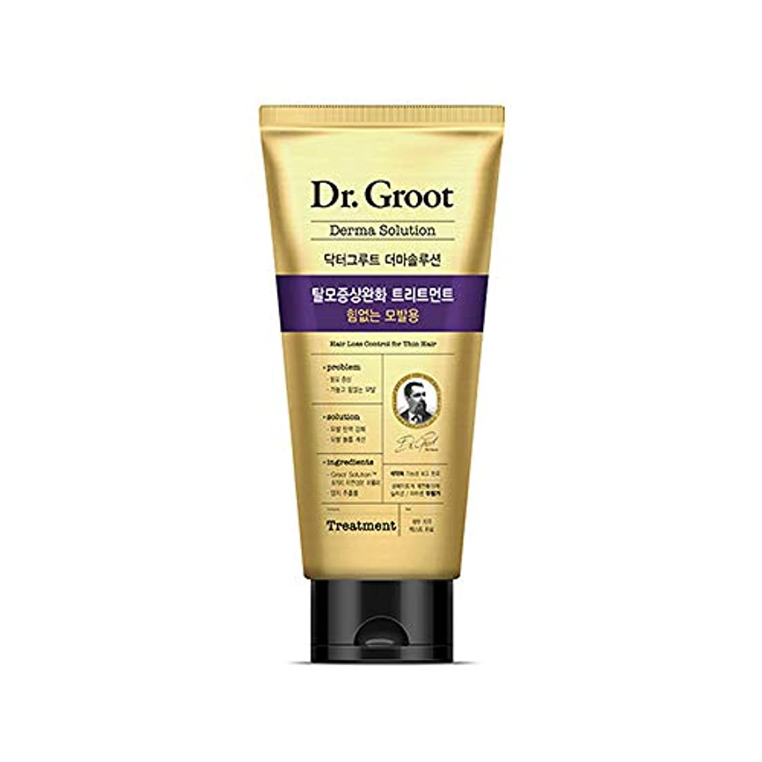 入札証明する租界【Dr.Groot】 ドクターグルート Dr.グルート 脱毛防止トリートメント 弱い髪質用(Anti Hair Loss Treatment -For weak hair-)