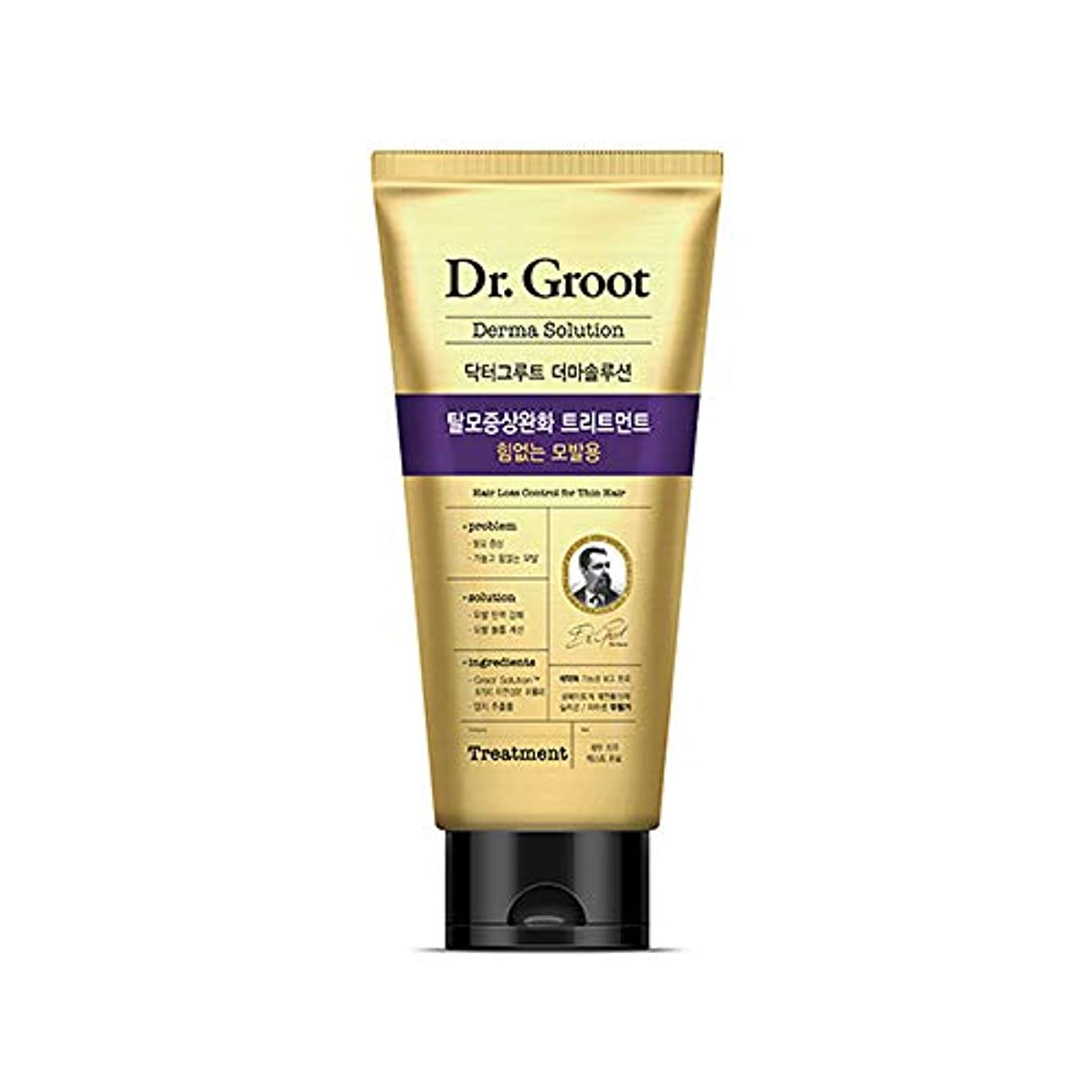 ロマンス偽接尾辞【Dr.Groot】 ドクターグルート Dr.グルート 脱毛防止トリートメント 弱い髪質用(Anti Hair Loss Treatment -For weak hair-)