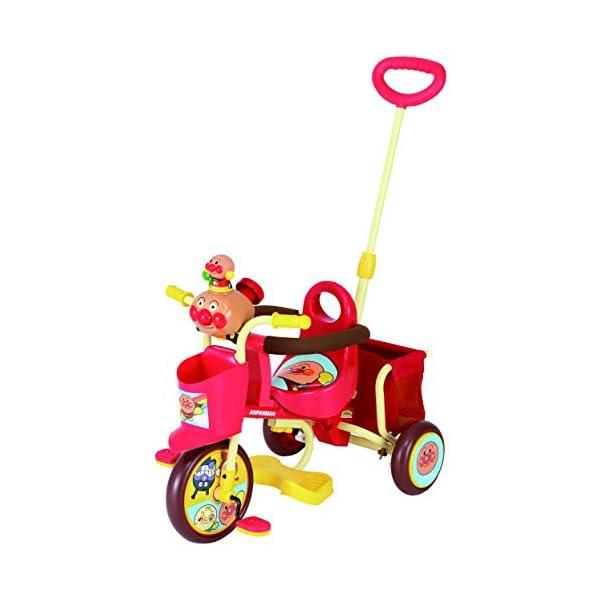 おでかけ三輪車 わくわくアンパンマンごう ピース...の商品画像