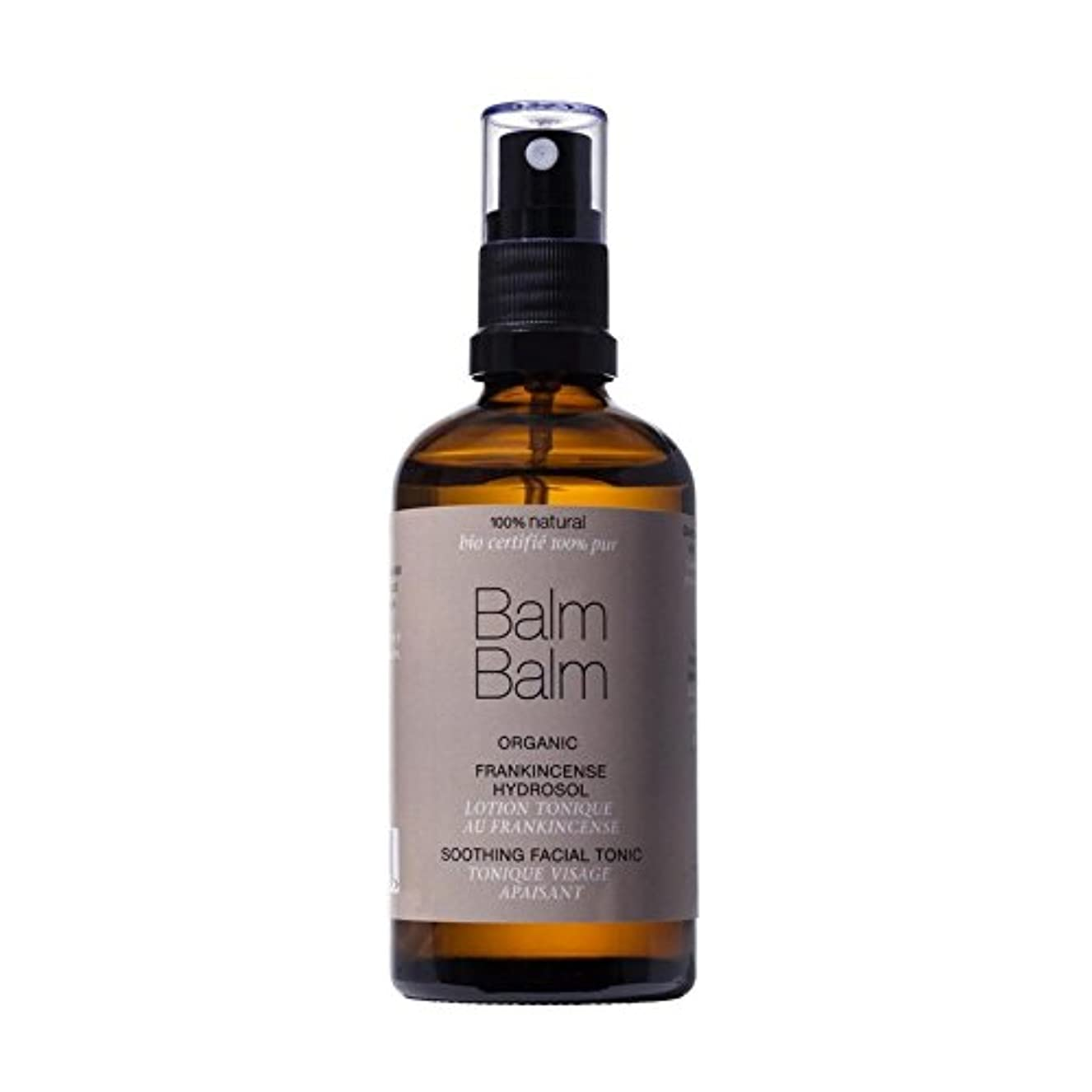 Balm Balm Frankincense Organic Hydrosol Soothing Facial Tonic 100ml (Pack of 6) - バームバーム乳香有機ハイドロゾルなだめるような顔のトニック...