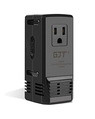 GJT 1500W 海外旅行用変圧器降圧220V to ...
