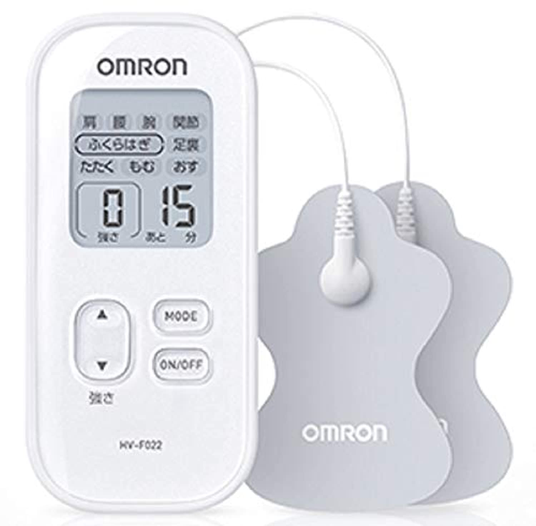 オムロン 低周波治療器 ホワイト HV-F022-W