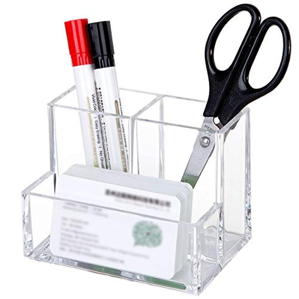 マネージャーバンドル組化粧筆収納 アクリル コスメ小物用品?化粧品収納ケース 透明