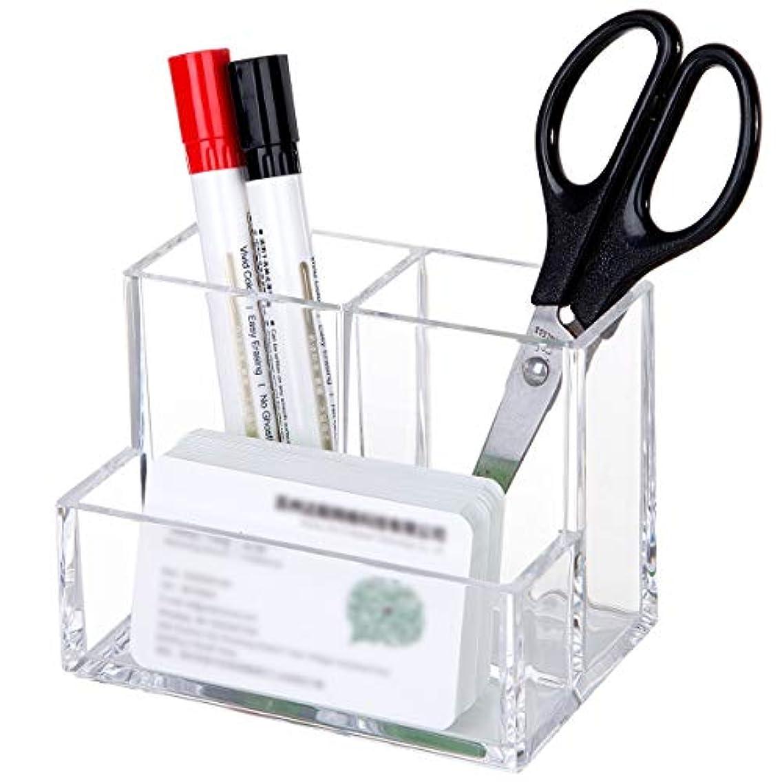 ハイキング面白いウィンク化粧筆収納 アクリル コスメ小物用品?化粧品収納ケース 透明