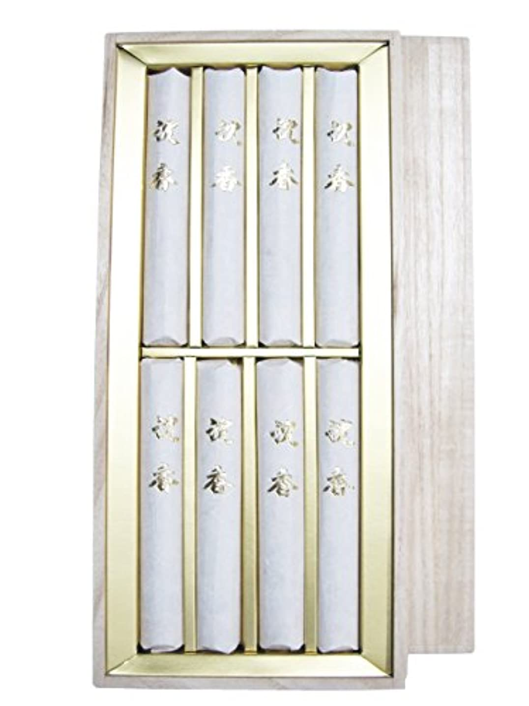 パックさせる追加淡路梅薫堂のご進物用線香 御線香贈答用 お線香ギフト 日本製 お供え物 高級品 高級線香 沈香 侘び寂び 桐箱 agarwood incense sticks wabisabi マケプレプライム #818