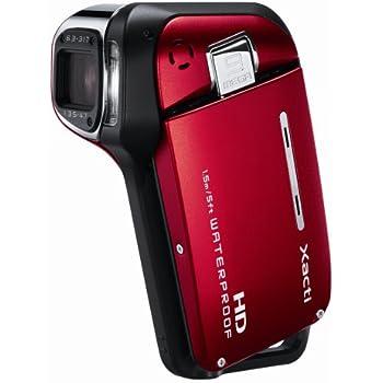 SANYO ハイビジョン 防水デジタルムービーカメラ Xacti (ザクティ) DMX-CA9 レッド DMX-CA9(R)