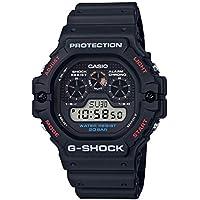 G Shock Men's Dw5900-1D 5900 Watch Resin Glass Black