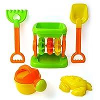 【ノーブランド品】プラスチック製 子供 ビーチ 海辺 砂時計 親子プレー おもちゃ アクセサリー 贈り物