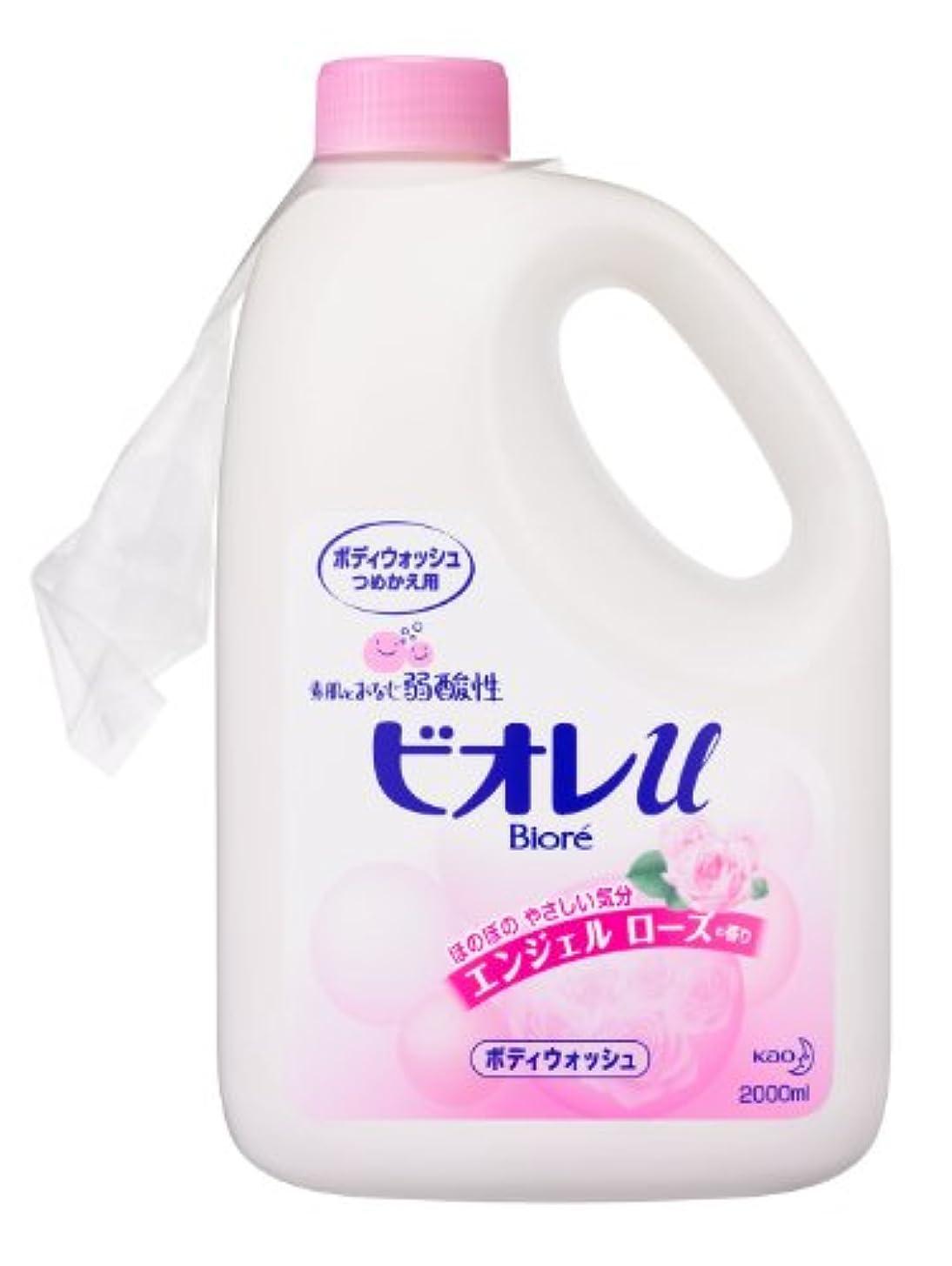れる悲惨なブランク【限定商品】ビオレuエンジェルローズの香りつめかえ2L