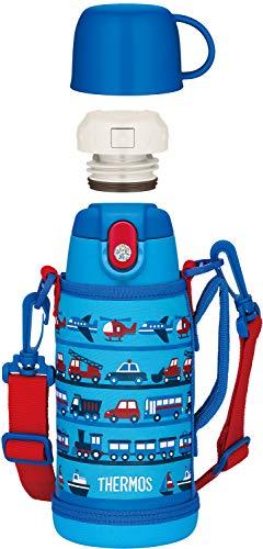 サーモス 水筒 真空断熱2ウェイボトル ライトブルー 600ml/620ml FJA-600WF LB