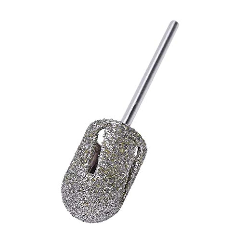 正直アルコール代数的Vaorwne ダイヤモンドドリルビットロータリー フットキューティクルクリーン マニキュアペディキュアツール ドリルアクセサリー ネイルミルズ-1