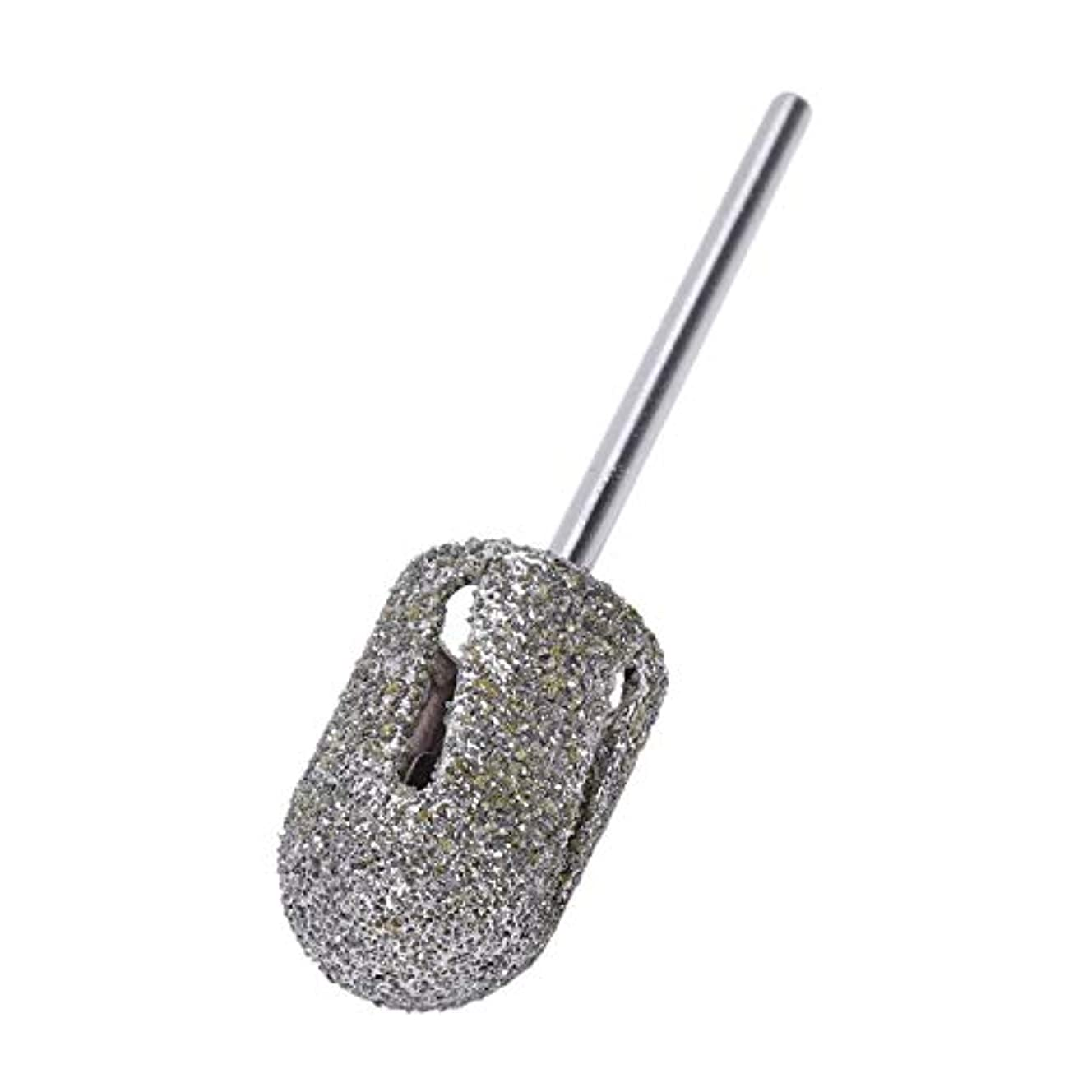 イブニング宗教的なベジタリアンVaorwne ダイヤモンドドリルビットロータリー フットキューティクルクリーン マニキュアペディキュアツール ドリルアクセサリー ネイルミルズ-1