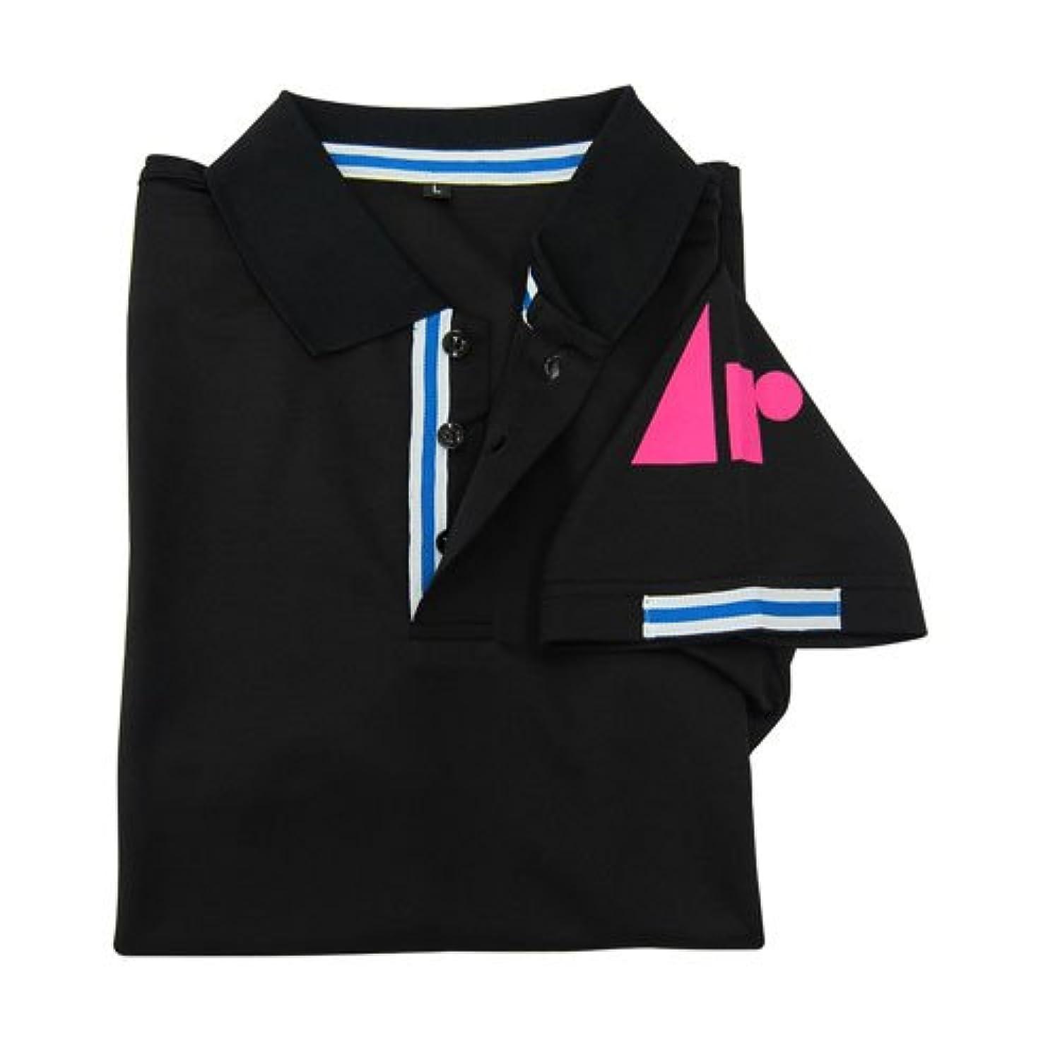 【ARUKAZIKJAPAN/アルカジックジャパン】Ar.クールポロシャツ 半袖 ブラック M 261265
