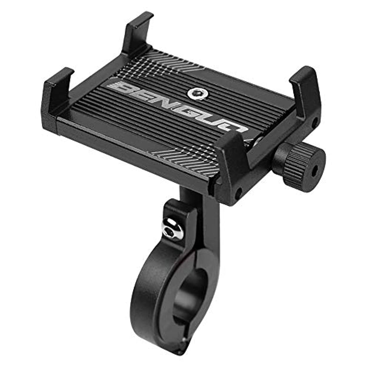 フラッシュのように素早くワイヤー多年生自転車ホルダー  スマホ バイクホルダー GPSナビ用 アルミ製 360度回転可 揺れ防止 脱落防止 調整可能 強力な保護