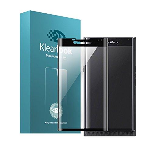 KlearLook BlackBerry Priv 全面フルカバー強化ガラス...