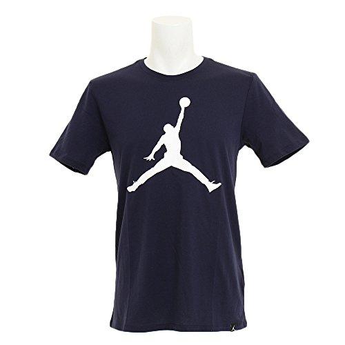 ナイキ(ナイキ) ジョーダン アイコン ロゴ 半袖Tシャツ 908017-451FA17 (ネイビー/M/Men's)