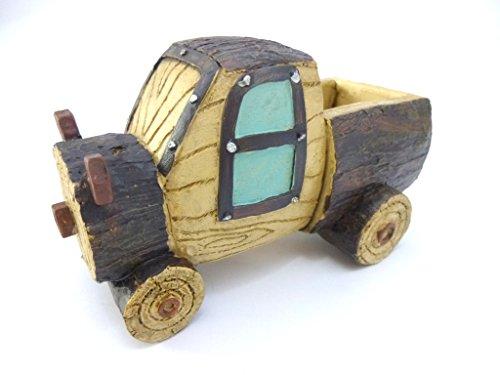 KANARIA ガーデニング プランター / 植木 鉢 入れ物 / 車 トラック 型 / 樹脂製 (トラック)