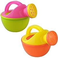 elegantstunning 赤ちゃんのお風呂のおもちゃプラスチック水を注ぐことができますウォーターポットビーチ玩具を再生砂のおもちゃ子供のためのギフト