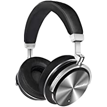 Bluedio T4S (Turbine) Active Noise Cancelling Over-Ear Swiveling Wireless Bluetooth Headphones with Mic (Black)