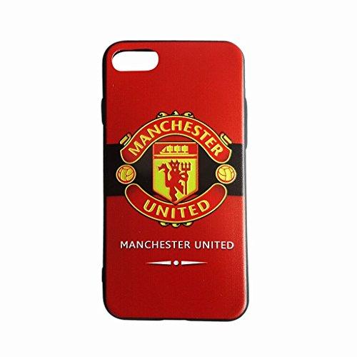 マンチェスターユナイテッド(赤×黒) iPhone7 ケース