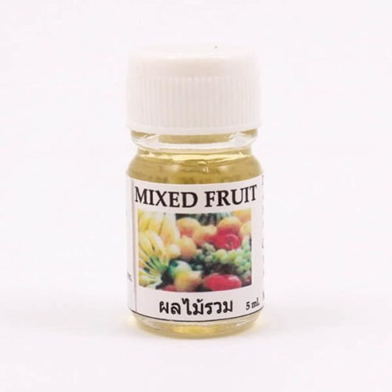 悲惨スピン粗い6X Mixed Fruit Aroma Fragrance Essential Oil 5ML Diffuser Burner Therapy