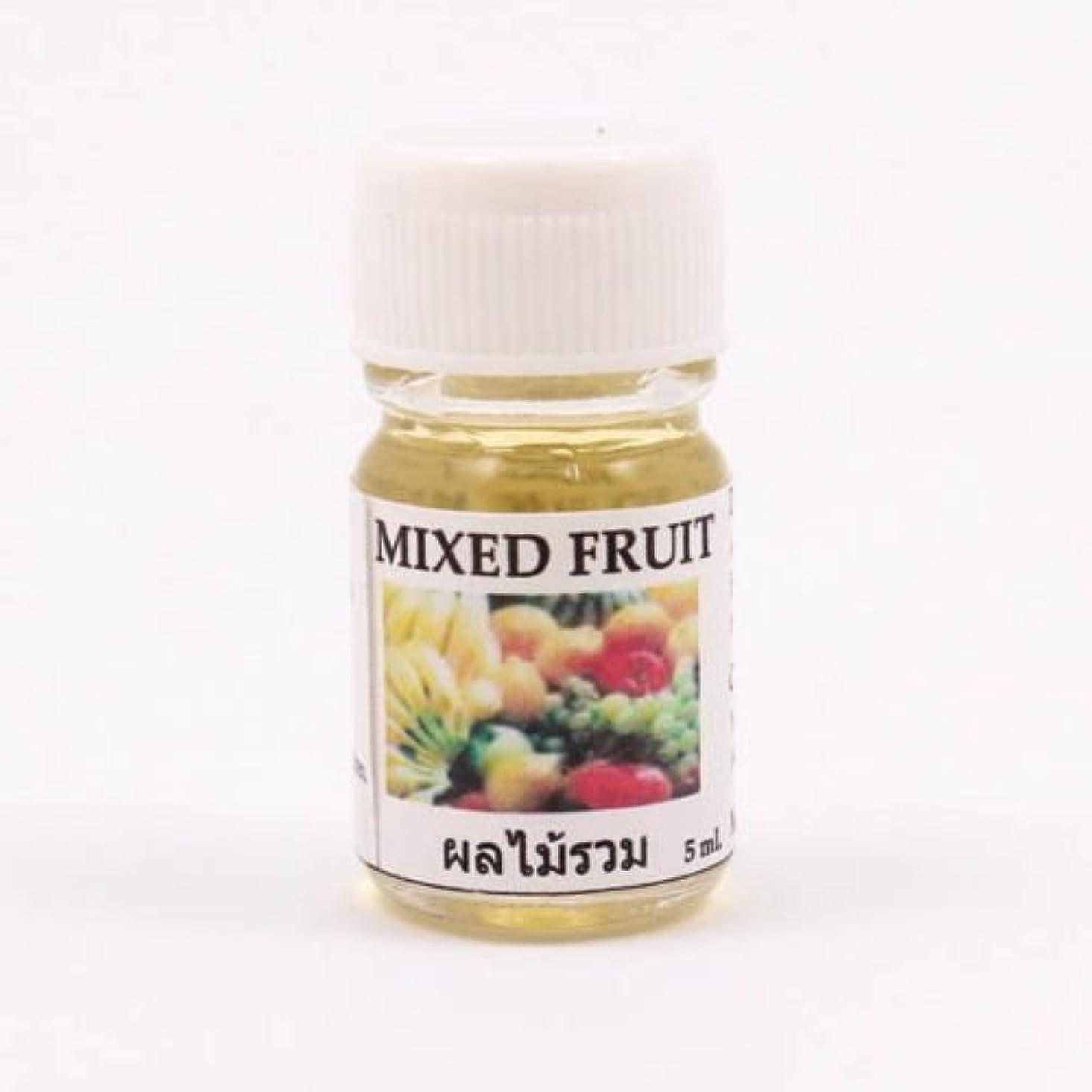 促す放棄された建物6X Mixed Fruit Aroma Fragrance Essential Oil 5ML Diffuser Burner Therapy