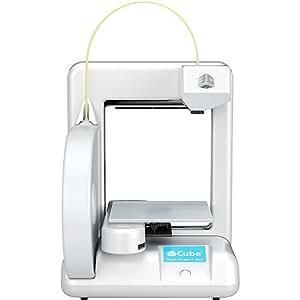 3D SYSTEMS CUBE 3Dプリンタ (3Dプリンター) 2ND GEN シルバー ホワイト