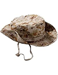 Outflower ジャングルハット カモフラージュサ 紫外線カット 迷彩帽子 サファリハット 男女兼用 釣り 迷彩柄 帽子 サイズ調整可 スノボーに使う 軍服 ミリタリー 大きいサイズ キャップ